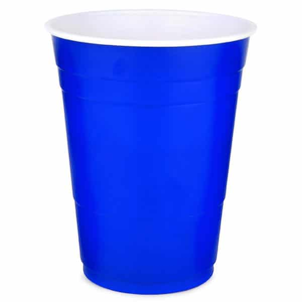 Blue Solo Cup (Plastic) Party Cup