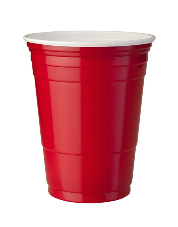 Red 8oz Solo Cup (Plastic)